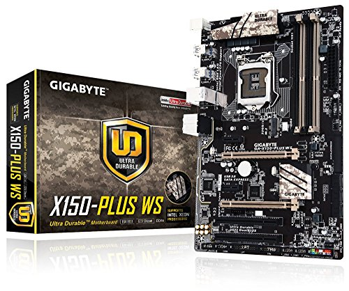 Gigabyte Motherboards ATX DDR4 LGA 1151 Motherboards GA-X150-PLUS WS