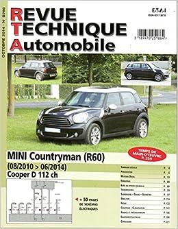 Amazonfr Ré édition Countryman 10 14 Revue Technique Mini Etat