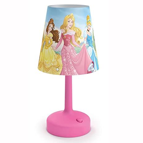 Amazon.com: Disney Princess Portable Table Lamp: Home & Kitchen