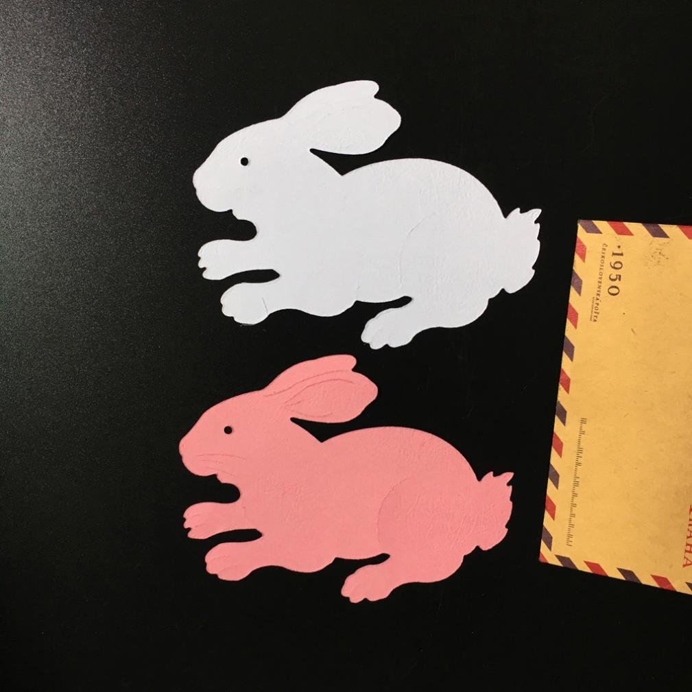 Anboo Chinese Zodiac Metal DIY Embossing Cutting Dies Stencil Scrapbooking Album Paper Card Art Craft (Rabbit) by Anboo (Image #2)