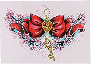 Akabsh_accessory Gothic Girls Temporary Body Tattoos Sticker for Party,Colorful Waterproof Tattoo Paper,Fake Tattoo