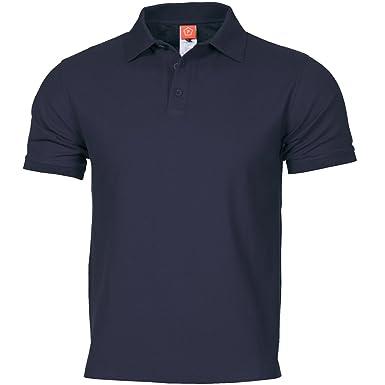 Pentagon Hombres Aniketos Polo T-Shirt Navy Azul Tamano M: Amazon ...