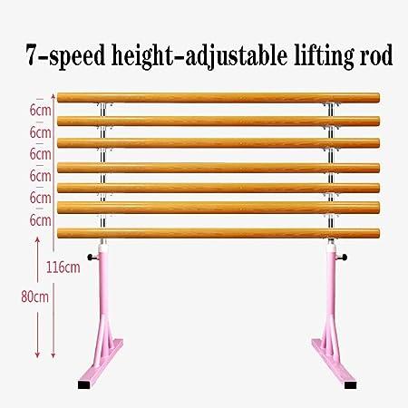 Xu-outdoor Conveniente Pole Dance Movable Barra Fija Independiente Altura Ajustable Ballet Polo Bar