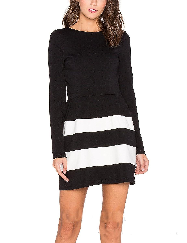 MiYang Women's Classic Black Dress-Item To Complete The Elegant Look