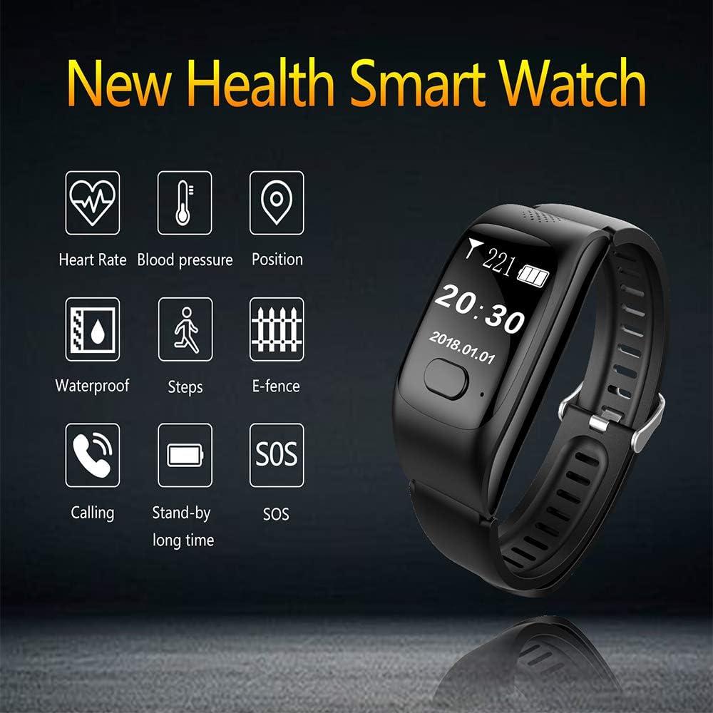 Amazon.com: Reloj inteligente H10 deportivo con contador de ...