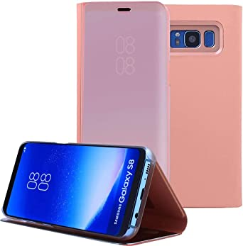 AICase Funda para Samsung Galaxy S8 Plus,Samsung Clear View Cover ...