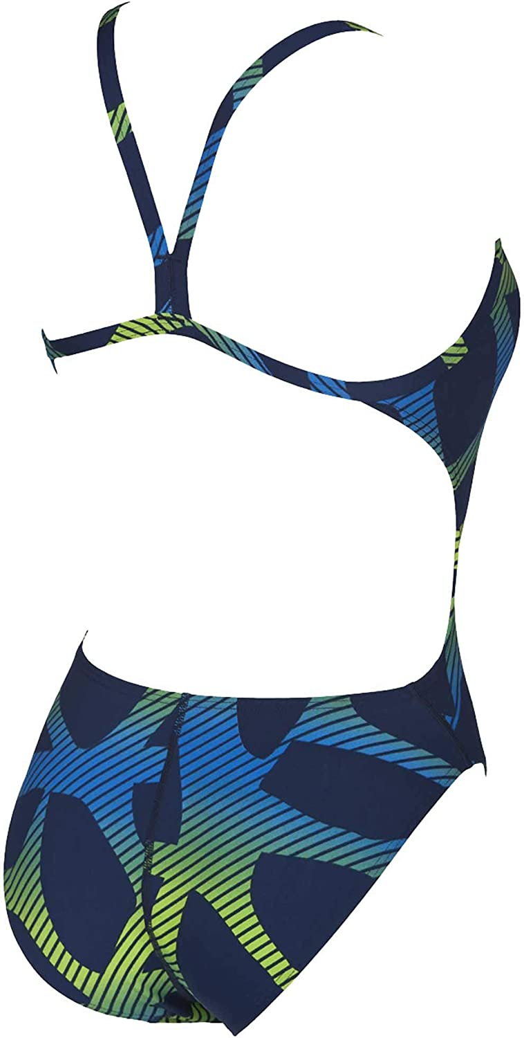 Arena Womens Spider Challenge Back MaxLife One Piece Swimsuit