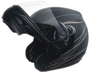 Gmax GM44 unisex-adult flip-up-helmet-style Motorcycle Street Helmet Derk