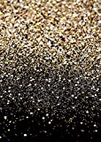 Daniu Gold Glitter Sequin Spot Backdrops Starry Sky Shining Astract Photo Background Party Wedding Children Newborn Photography Studio Props