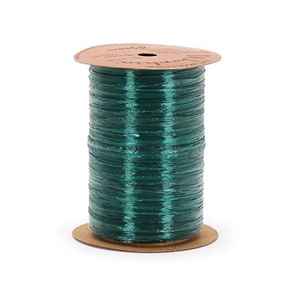 Chocolate Berwick Wraphia Pearlized Rayon Craft Ribbon 100-Yard Spool