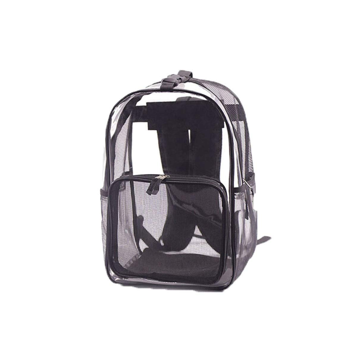 Guyuexuan Pet Backpack, Pet Space Capsule, Cat And Dog Universal Transparent Backpack, Travel Bag, Portable Outing Cat Bag, Cat Cage, Black