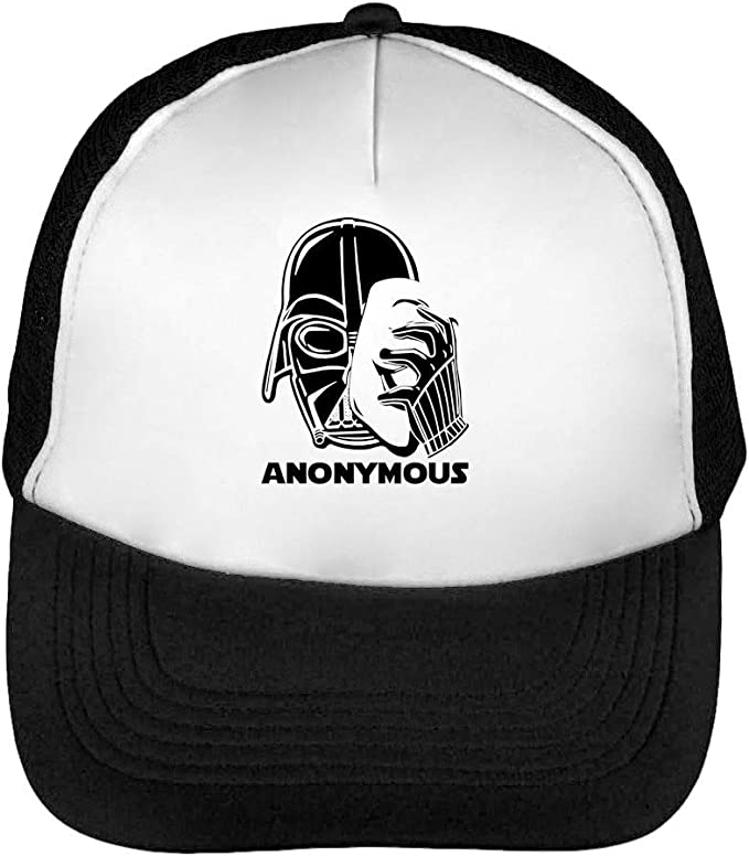 Star Wars Anonymous Darth Vader Gorras Hombre Snapback Beisbol ...