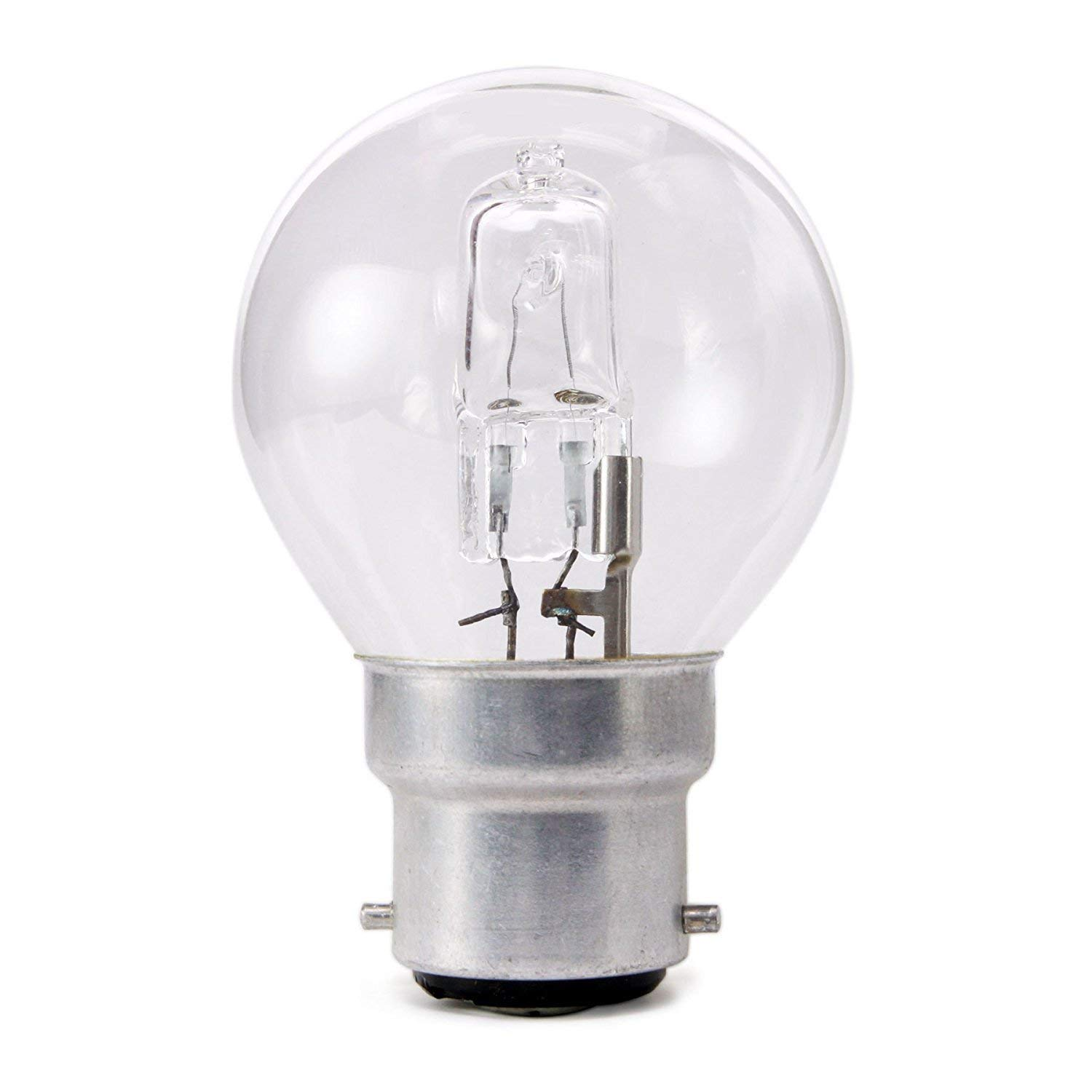 B22 BC 4 Pack A60 Classic 70W = 92W ECO Halogen Bayonet Cap Candle light bulb offer a sparkling crisp natural light with warm white 2700k colour temperature creating the perfect ambiancewith 1180 lumen output.