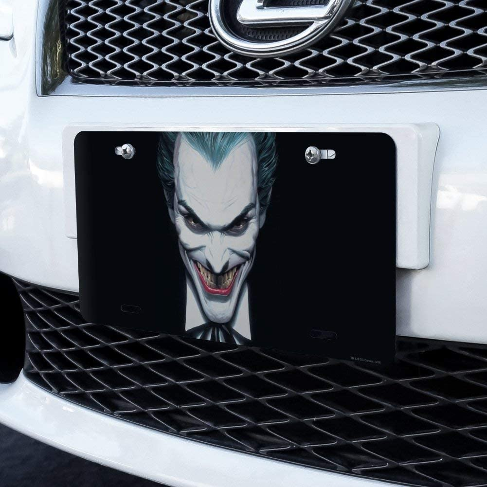 Graphics and More Batman Alex Ross Joker Head Novelty Metal Vanity Tag License Plate