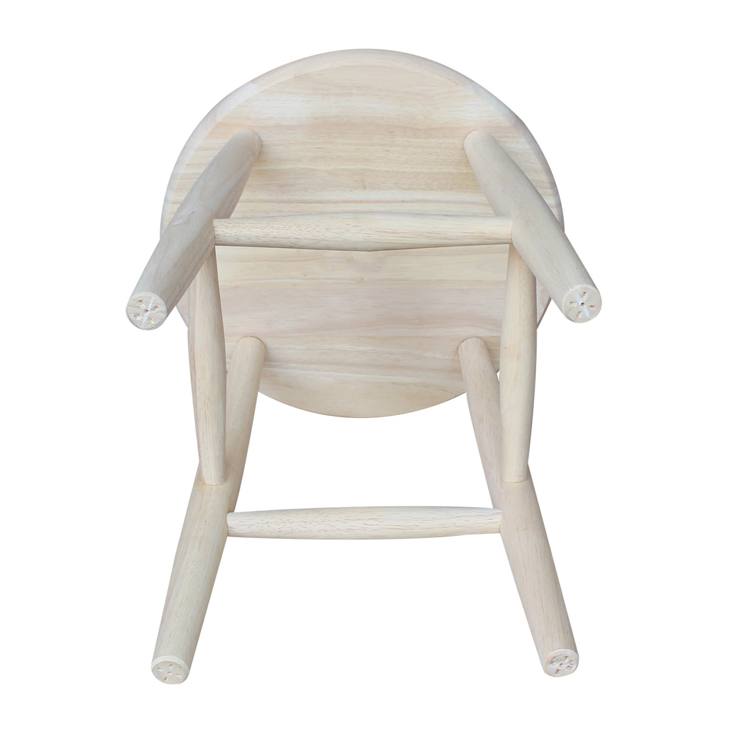 Amazon international concepts 1s 818 18 inch scooped seat amazon international concepts 1s 818 18 inch scooped seat stool unfinished kitchen dining geotapseo Images