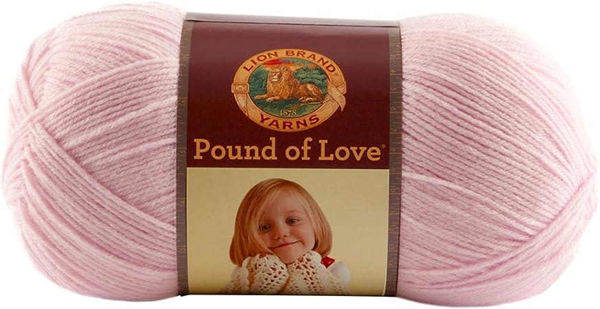 Lion Brand Pound Of Love Baby Yarn-elephant Grey