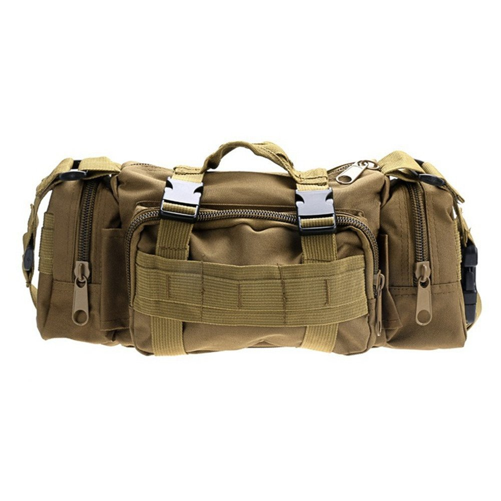 bestshared Utility Tactical Waist Pack Deployment Bag Pouch Military Camping Hiking Bag Outdoor Bag