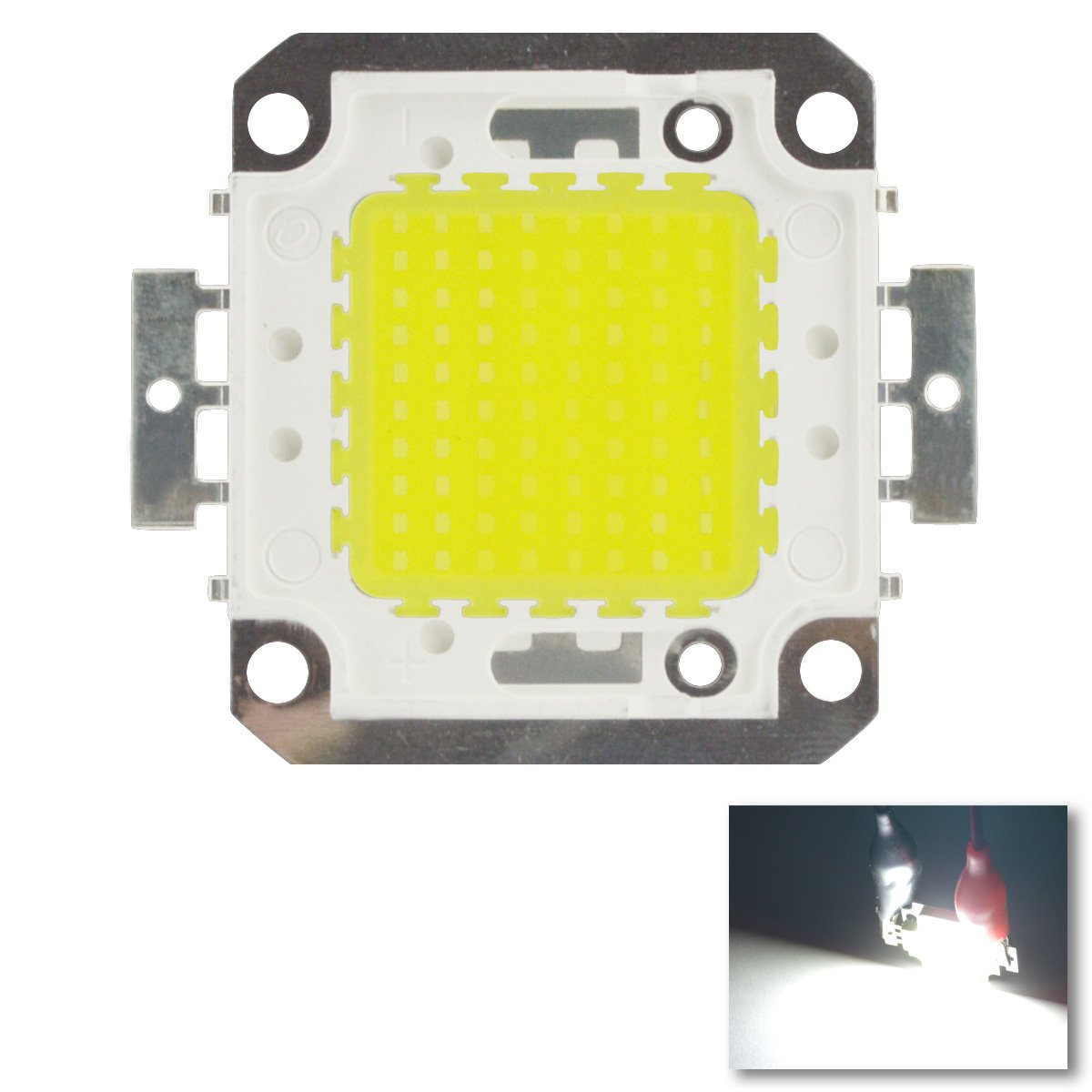 Lohas 100w Led Chip Cool White Bulb High Power Energy Saving Lamp Circuit 6 Additional Credit 1 Mill Devise A That Will Light Household Bulbs