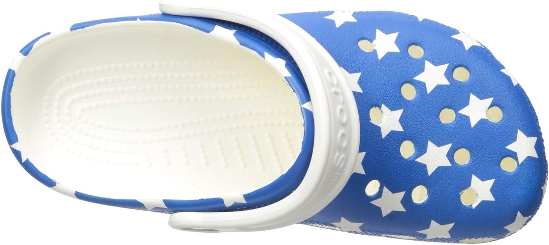 Amazon.com: Crocs - Zuecos para niños con diseño de bandera ...