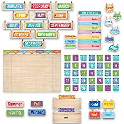 Creative Teaching Press Upcycle Style Calendar Set Bulletin Board (7061)