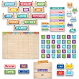 Creative Teaching Press Upcycle Style Calendar Set Bulletin Board (7061)