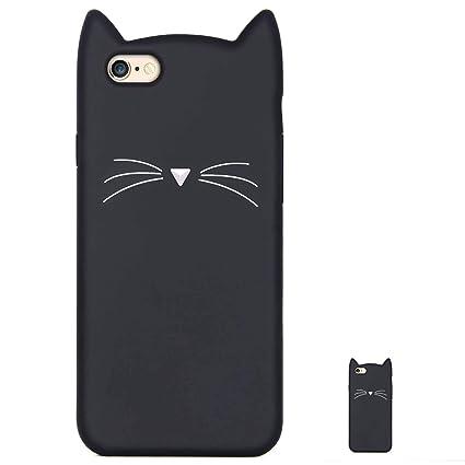 HopMore Gato Funda para iPhone 6S / 6 (4.7 Inch) Silicona ...