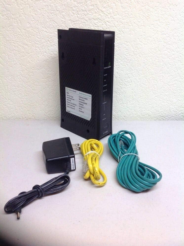 Zyxel C1100Z 802.11n VDSL2 Wireless Gateway CenturyLink (Renewed)