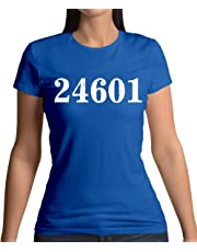 24601 Prison Number - Womens T-Shirt - 10 Colours