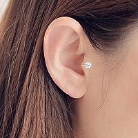 SKYEARRING Single Earring Unique New Silver Filled Alloy Branch Piercing Earring For Women Non Piercing Clip Earring