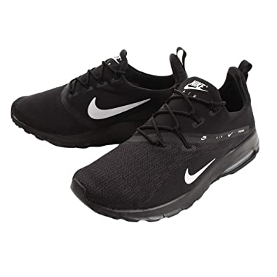 on sale c69d6 598b9 Nike Air Max Motion Racer 2 Mens Aa2178-002 Size 7 Black White