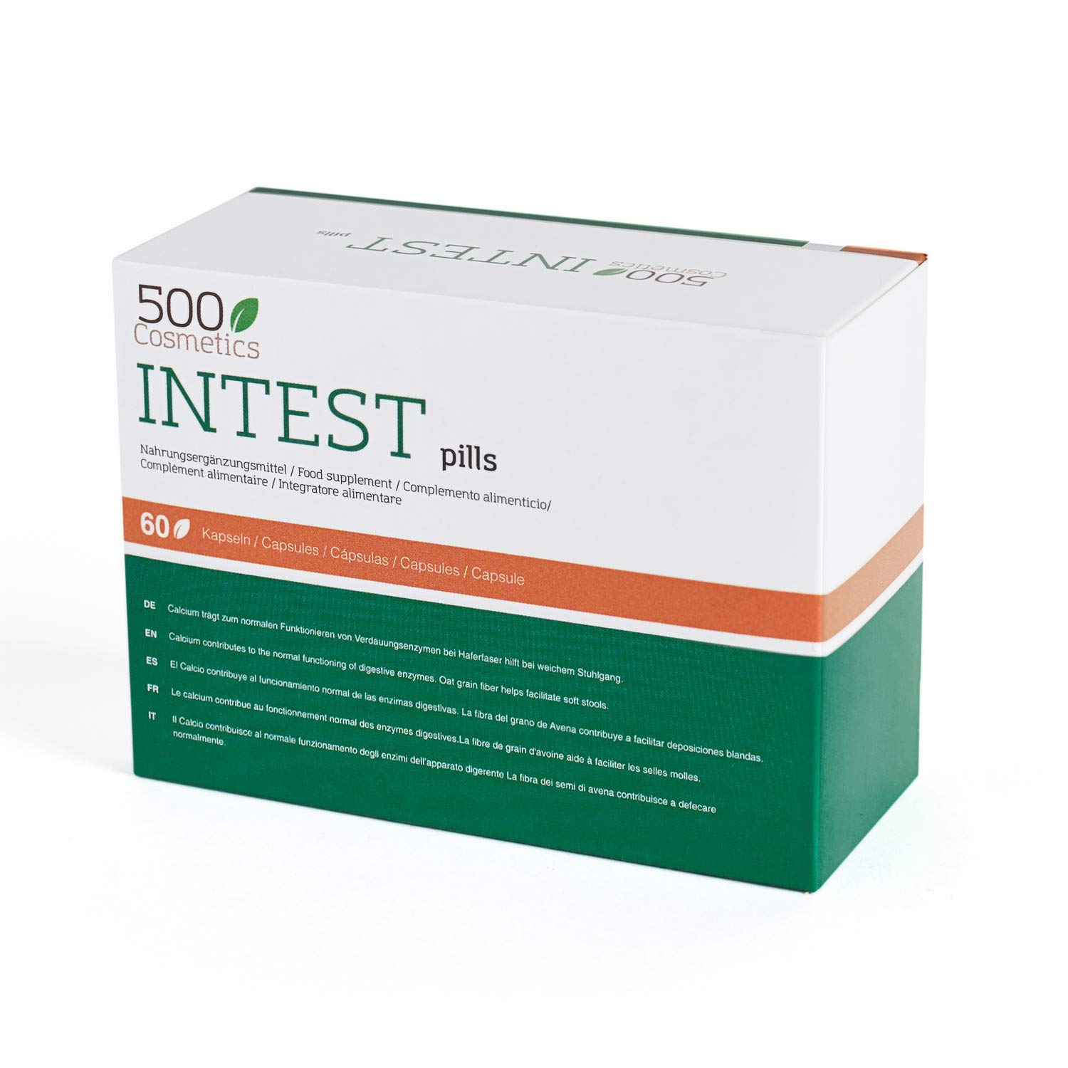 Amazon.com: 500Cosmetics Intest - Natural Capsules to Prevent ...