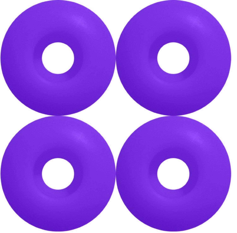 Skateboard WHEELS Blank 51mm Purple Skateboards(NC-1200551) by Unknown   B009YML3QU