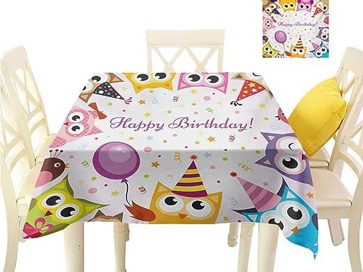 familytaste, Mantel para Mesa de cumpleaños para niños ...