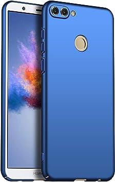 1SourceTek Compatible para Funda Huawei P Smart/Enjoy 7s Estuche Protector para Celular Delgado Minimalista Protector Anti-Rasguño de Alta Calidad para Huawei P Smart/Enjoy 7s (Azul Liso): Amazon.es: Belleza