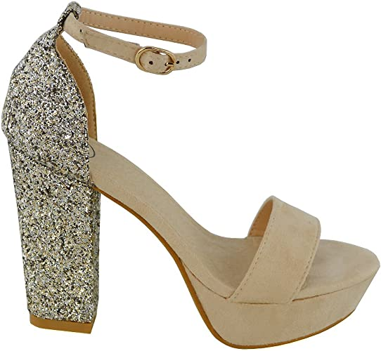 sparkly wedges for prom