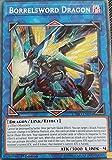 Yu-Gi-Oh! - Borrelsword Dragon - CYHO-EN034 - Secret Rare - 1st Edition - Cybernetic Horizon