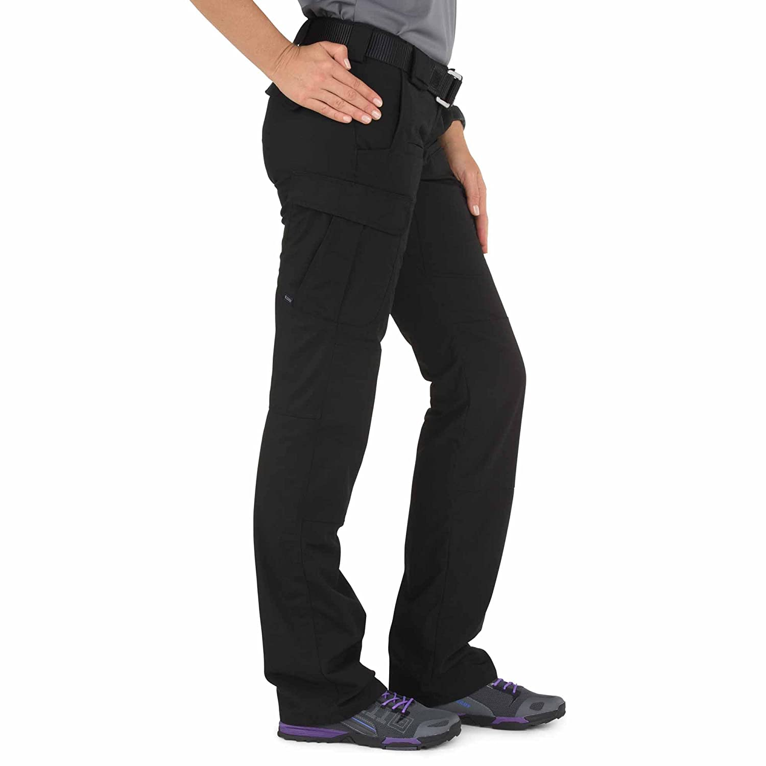 Style 64459 5.11 Tactical Womens Stryke Covert Cargo Pants Gusseted Construction Stretchable Fabric