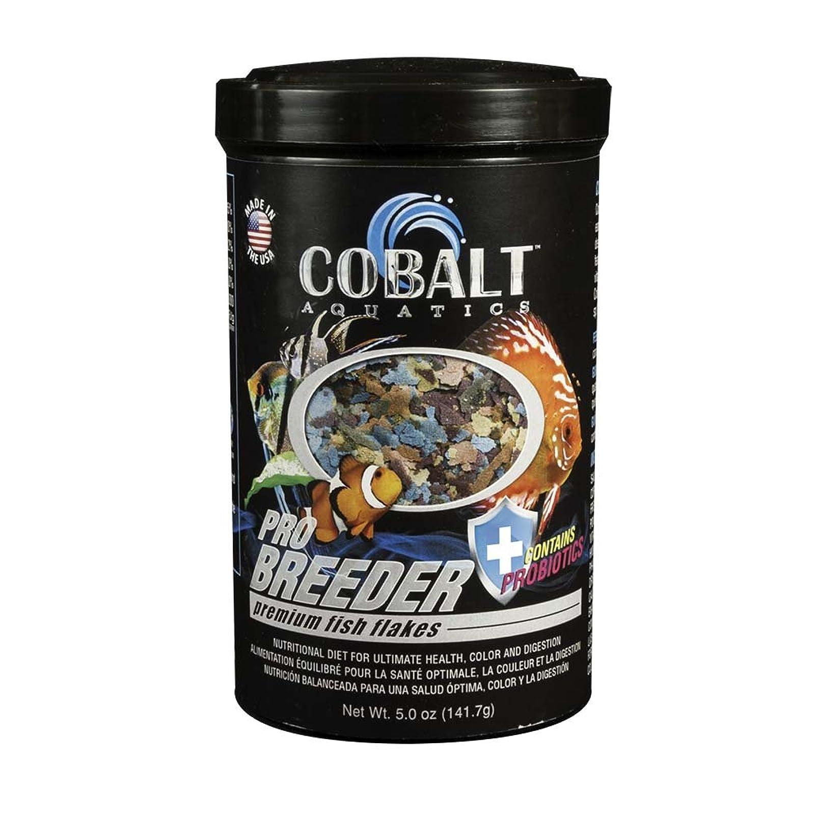 Cobalt Aquatics Pro Breeder Flake 5 oz 23002N - 1