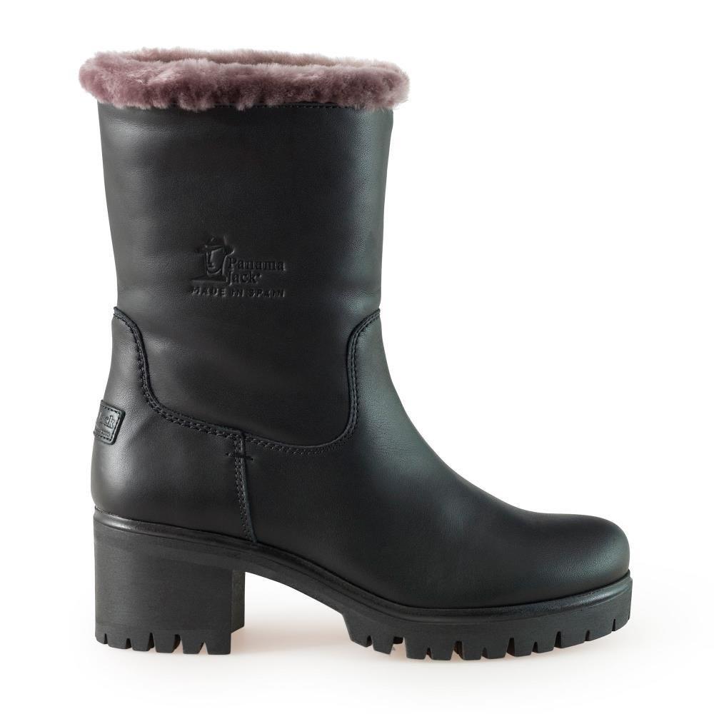 bc6872ca5b0b9a Panama Jack Boot Piola B5 Black 37 Black  Amazon.co.uk  Shoes   Bags