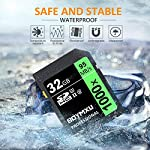 32GB SD Card, BOYMXU Professional 1000 x Class 10 SDHC UHS-I U3 Memory Card Compatible Computer Cameras and Camcorders, SD Memory Card Up to 95MB/s, Green/Black 13 SD High Speed Card Class 10, Up to 95MB/sec speed for the ultimate transfer rates. With growing video capabilities, you need high-performance cards you can rely on, and high-capacity options to keep you shooting longer without changing cards. BOYMXU's Professional 1000x SDHC UHS-I Cards makes that easy, providing you with large capacity options up to 32GB. Whether you are using a mid-range DSLR or HD camcorder, you will be able to leverage the latest photo and video features available for shooting high-quality images and stunning 1080p full-HD and 4K video.