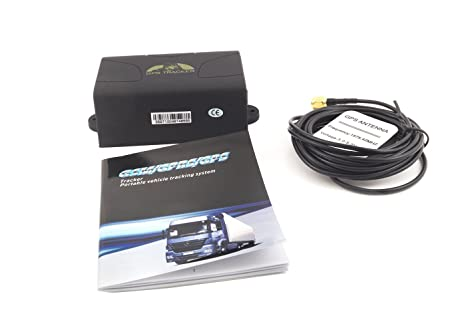 Localizador GPS Tracker TK104 Antirrobo satélite Coche Barco lancha IP65