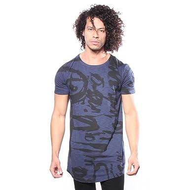 Amazon.com  Diesel Men s T-Longer-Ma Graphic T-Shirts  Clothing 7fb5c27fe8c