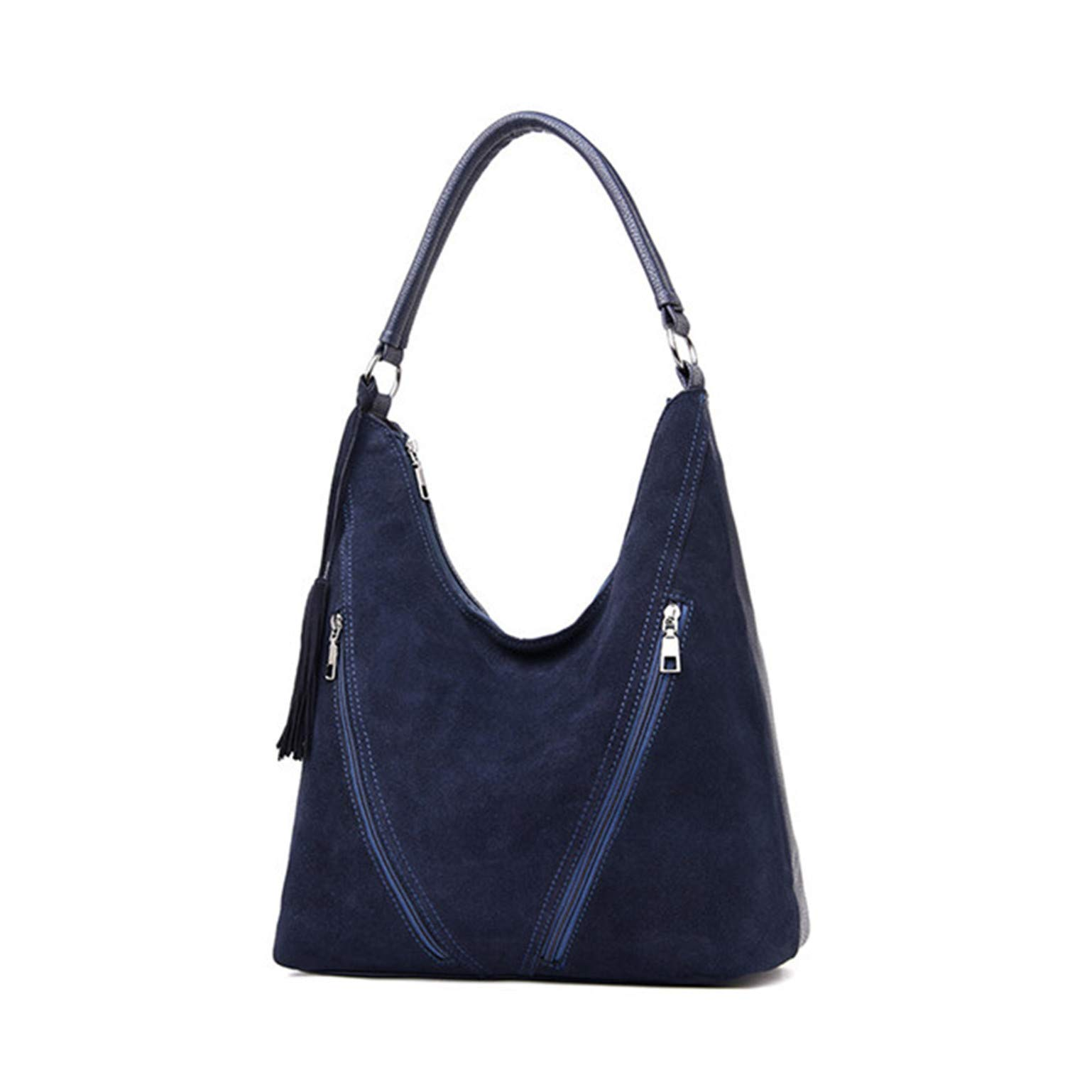 Amazon.com: Woman Handbags Faux Suede Leather Bag Female Bag Casual Tote Large Capacity Shoulder Crossbody Bags Ladies Sac: Shoes