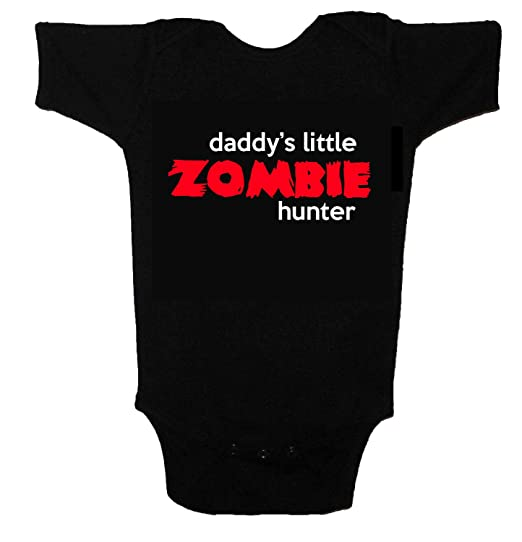 d2e74152c Zombie Baby Daddy's Little Helper Funny Cute Baby One Piece Tshirt (0-3  months
