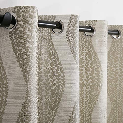 Thermal Insulated Grommets Semi-Blackout Curtains/Drapes