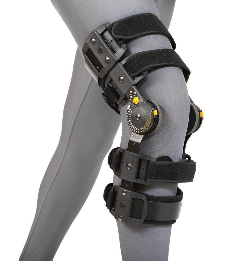 VertaLoc MAX OA Knee Brace, 21''-24'', Right