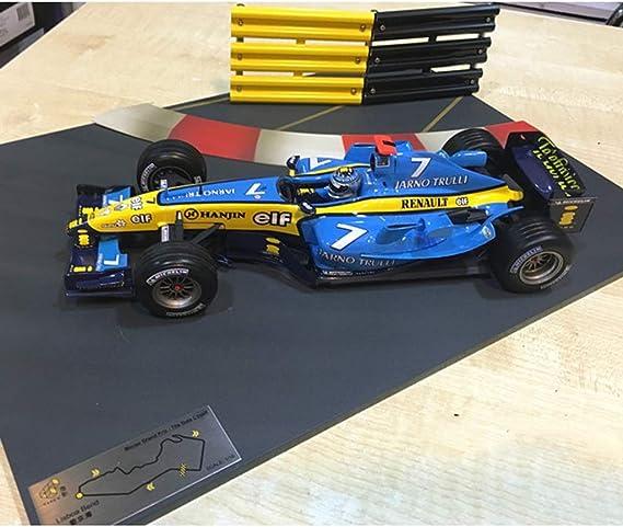 GAOQUN-TOY Mod/èle de Voiture en Alliage de Formula F1 Racing au Format 1:18 Authentique Couleur : Bleu, Taille : 23CM*9CM*4CM