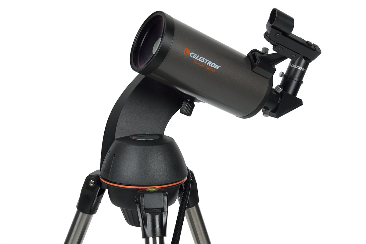 Celestron NexStar 90SLT Mak Computerized Telescope (Black) by Celestron
