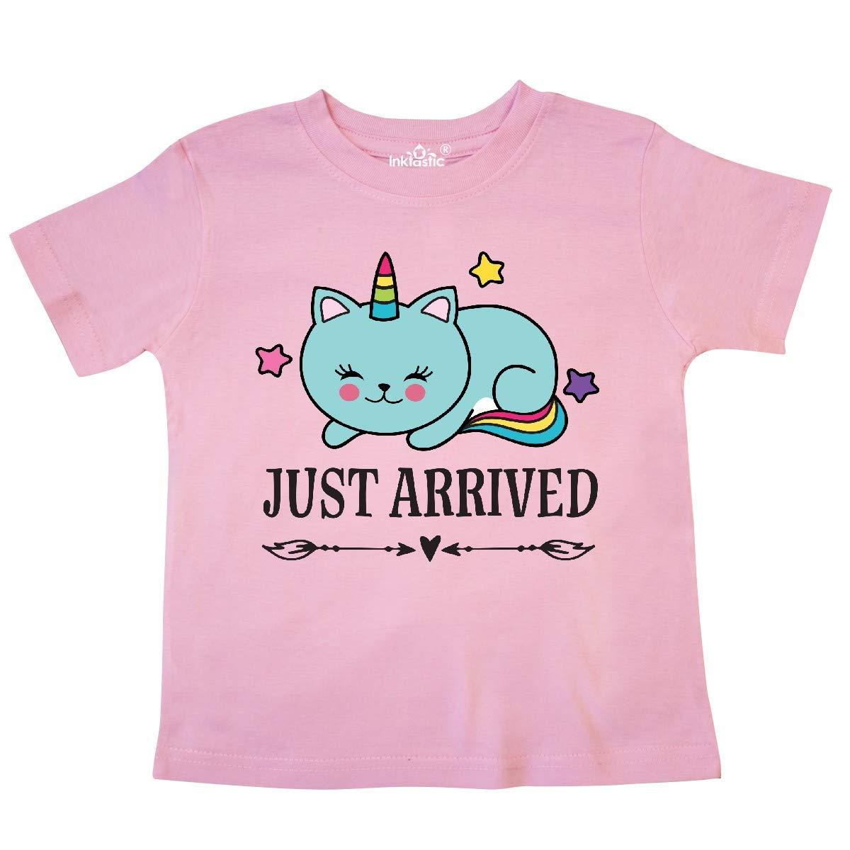inktastic New Baby Unicorn Toddler T-Shirt