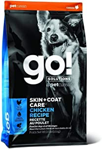 Petcurean Go! Skin & Coat Chicken Dog Food 25lb